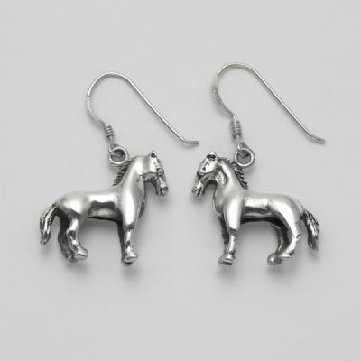 Stately Horse Earrings