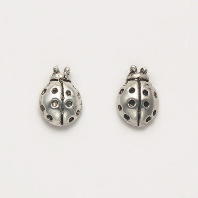 Tiny Ladybug Stud Earrings