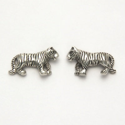 Large Tiger Earrings