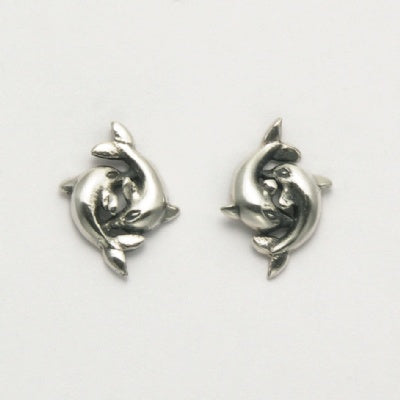 Small Dancing Dolphins Earrings