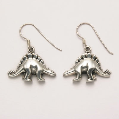 Smooth Stegosaurus Earrings