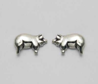 Small Pig Earrings