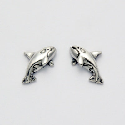 Small Killer Whale Earrings