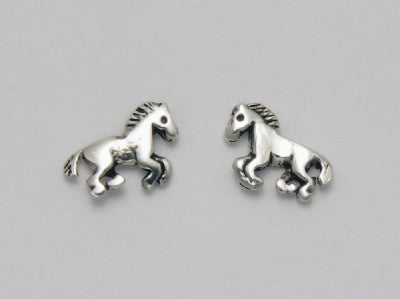 Petite Horse Raring Earrings