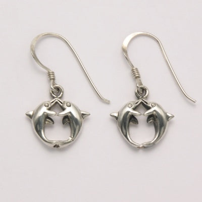 Kissing Dolphins Earrings