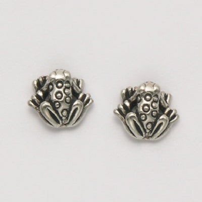 Small Sitting Frog Earring