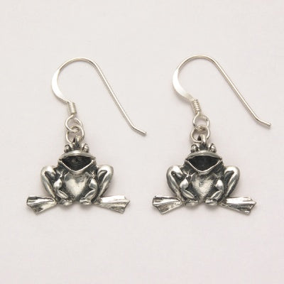 Laughing Frog Earring