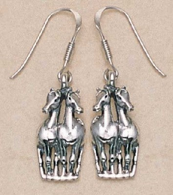 Two Horses Earrings