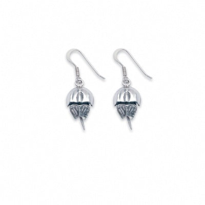 Horseshoe Crab Wire Earrings