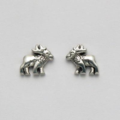 Small Moose Earrings