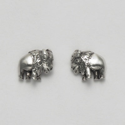 Small Bison Earrings