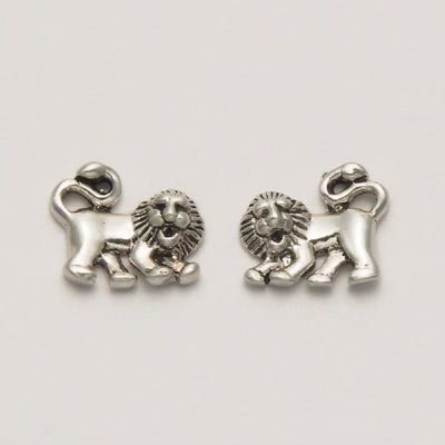 Small Lion Earrings