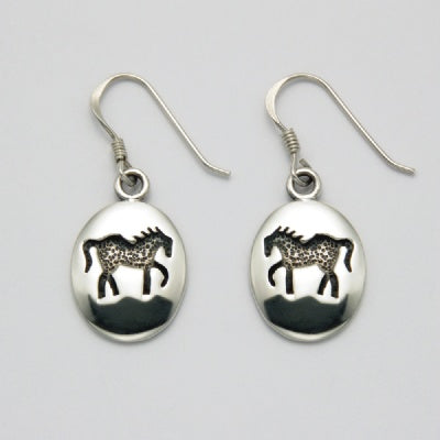 Horse Imprint Earrings