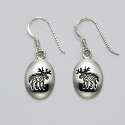 Moose Imprint Earrings