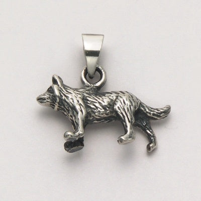 Small Wolf Pendant