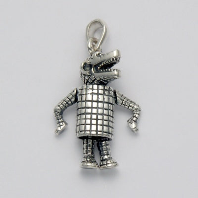Standing Movable Alligator Pendant