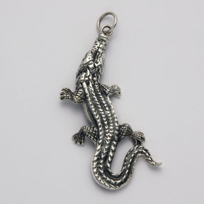 Crawling Alligator Pendant