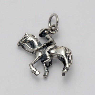 Horse with Rider Pendant