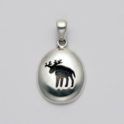 Moose Imprint Pendant