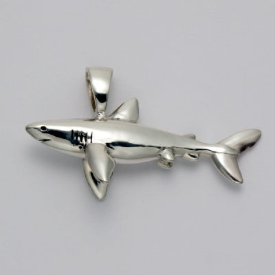 Swimming Shark Pendant