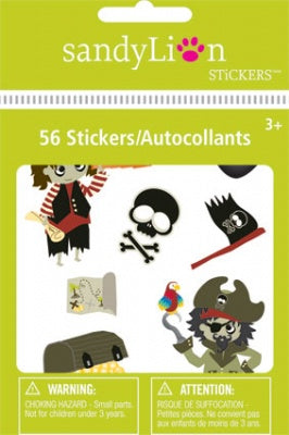 Pirates Big Bits Stickers