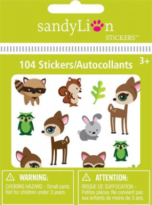 Forest Fawn Bitty Bits Stickers