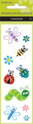 Insects Gem Slim Stickers