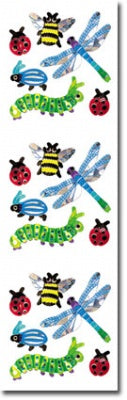 Bugs Prismatic Slim Stickers