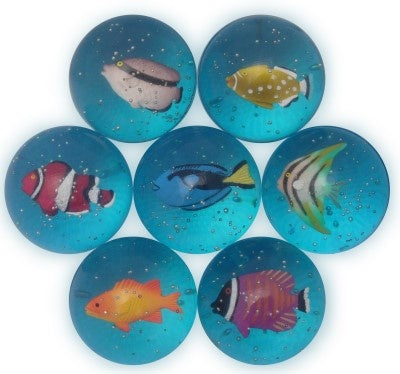 Fish Bouncy Ball (1 Ball)