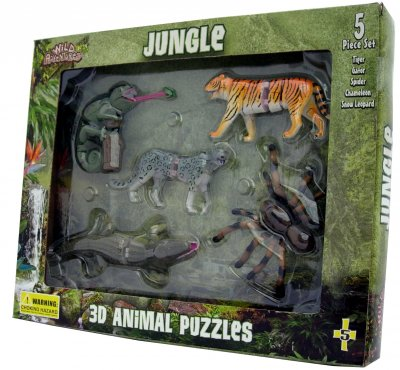 Jungle 3D Puzzle Set