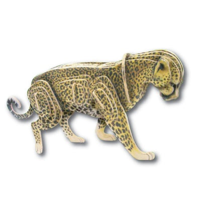 PhotoRealistic 3D Cheetah Wooden Puzzle/Kit