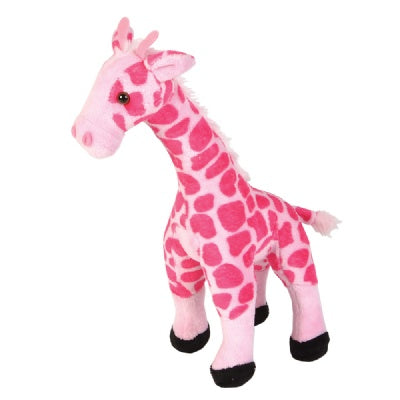 Smooth Pink Giraffe Stuffed Animal (11-inch)