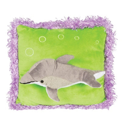 Posh 3D Dolphin Pillow