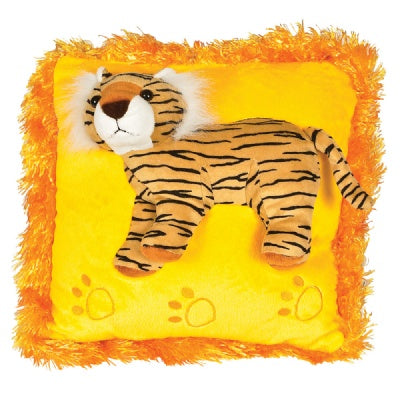 Posh 3D Tiger Pillow