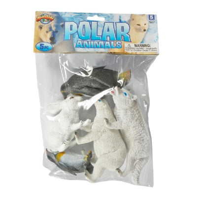 Polar Animals Bag: 5-Piece Set