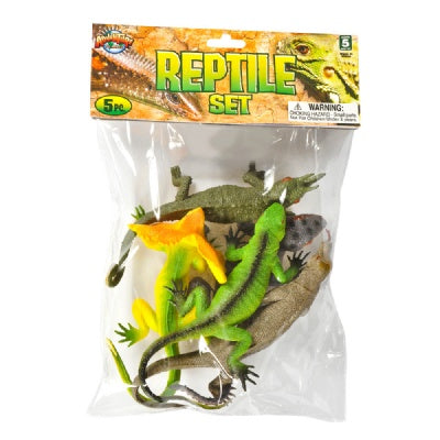 Reptile Bag: 5-Piece Lizard Set (8-11-inch)