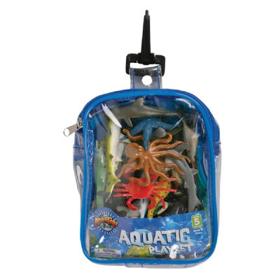 Aquatic Adventure Travel Playset