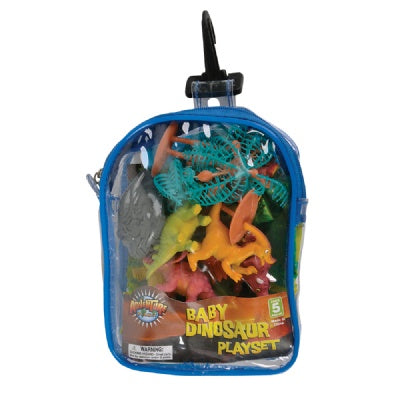 Baby Dinosaur Travel Playset
