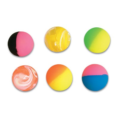 Assorted 49mm  Hi-Bounce Balls (Bulk Pack Of 12 Balls)