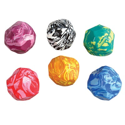 Rock Bouncy Ball (Bulk Pack Of 12 Balls)