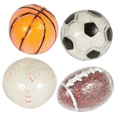 Large 2.25-inch Squeeze Sports Stress Ball (1 Ball)