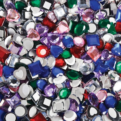 Self Adhesive Jewels (500 Pieces)