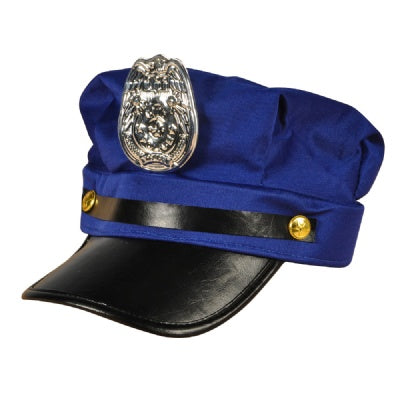Adult Fabric Police Cap