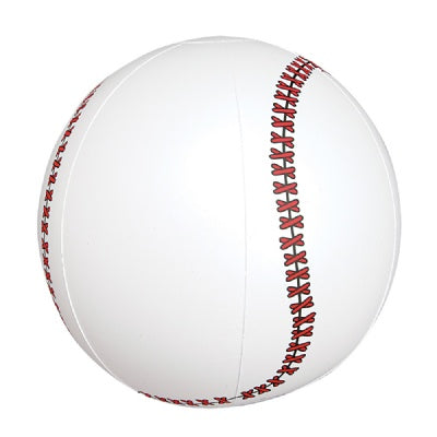 10-inch Baseball Inflate  (Bulk Pack of 12 Inflatables)