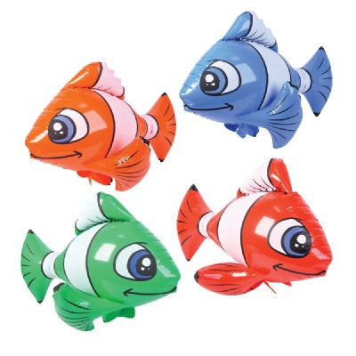 36-inch Clown Fish Inflate  (Bulk Pack of 12 Inflatables)