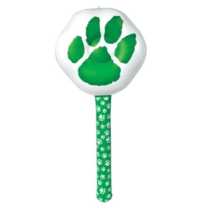 36-inch Green Paw Team Spirit Smacker