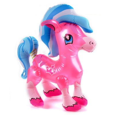27-inch Pink Pony Inflatable  (Bulk Pack of 12 Inflatables)