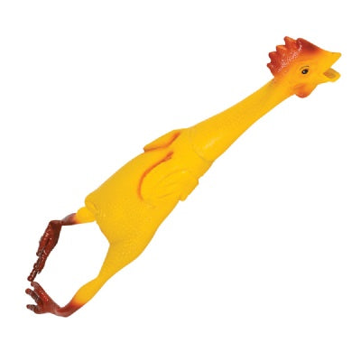 21-inch Rubber Chicken (Bulk Pack of 12 Chickens)