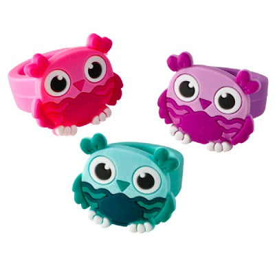 Owl Rubber Rings (1 Ring)