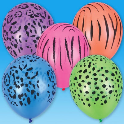 11-inch Qualatex Neon Safari Balloon (1 Balloon)